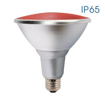 SILVER LED PAR38 15W E27 RED