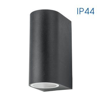 PORTO/R 2xGU10 BK IP44