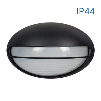 PETRA 1xE27 BK IP44